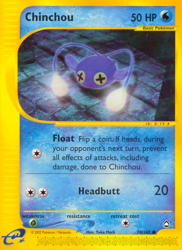 2003 Aquapolis Chinchou