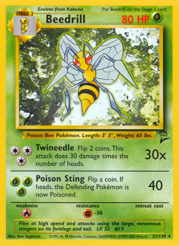 2000 Base Set II Beedrill