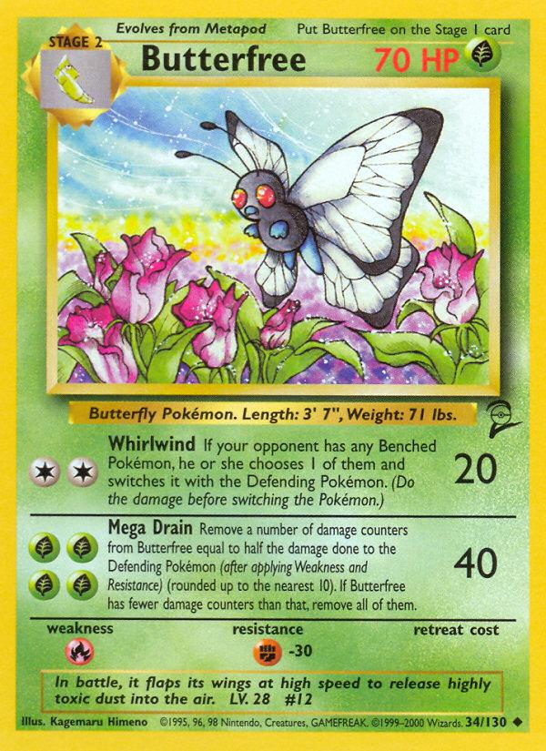 2000 Base Set II Butterfree