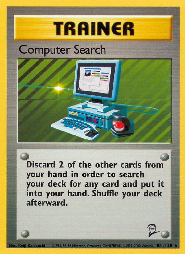2000 Base Set II Computer Search