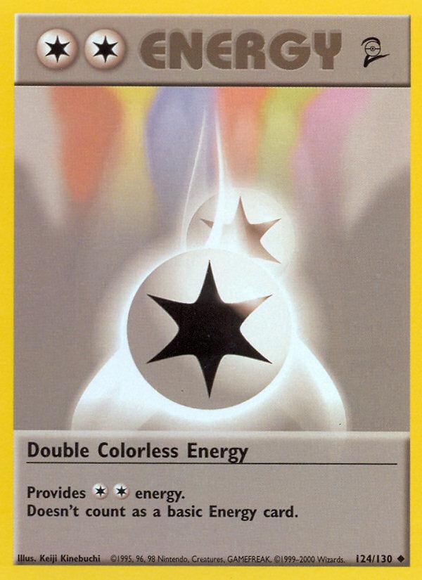 2000 Base Set II Double Colorless Energy