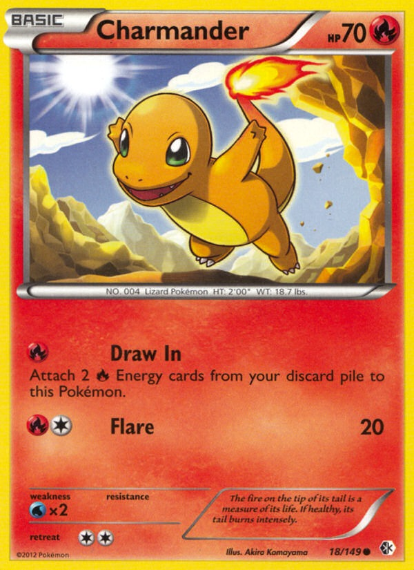 2012 Boundaries Crossed Charmander