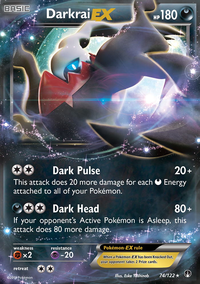 2016 Breakpoint Darkrai EX   Holo