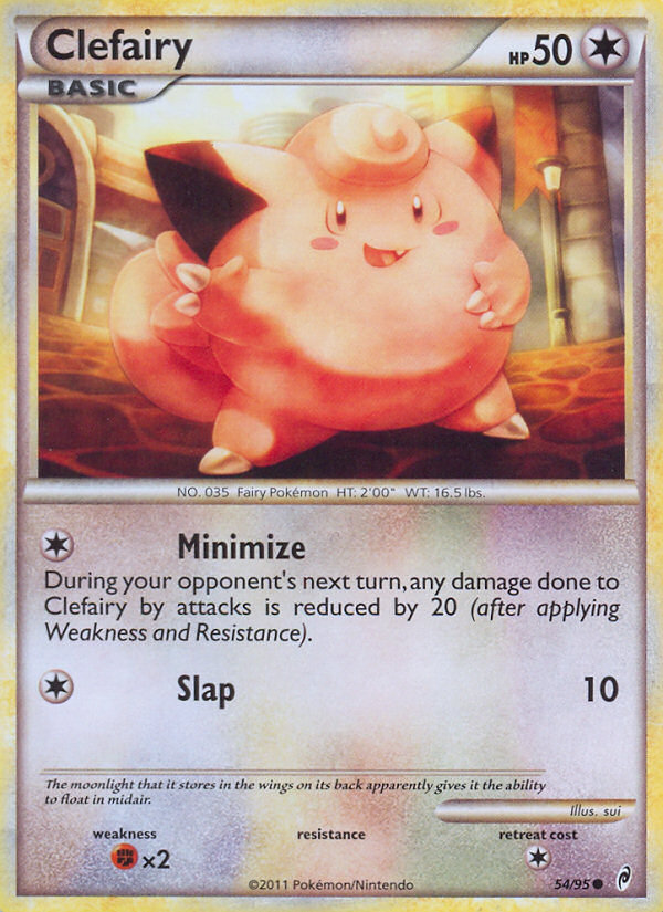 2011 Call of Legends Clefairy Reverse Foil