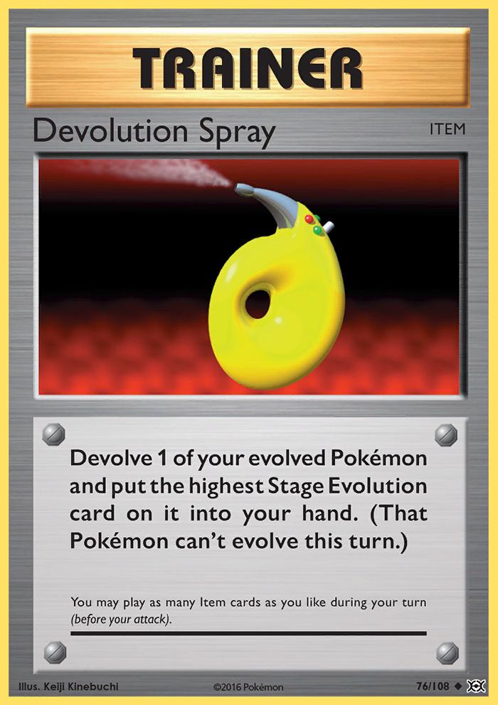 2016 Evolutions Devolution Spray