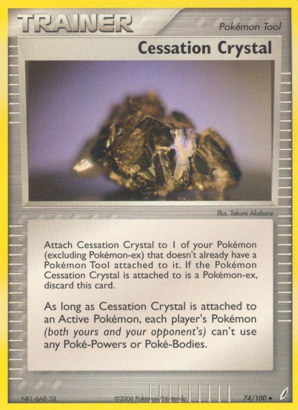 2006 EX Crystal Guardians Cessation Crystal Reverse Foil