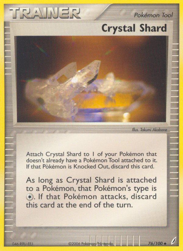 2006 EX Crystal Guardians Crystal Shard Reverse Foil