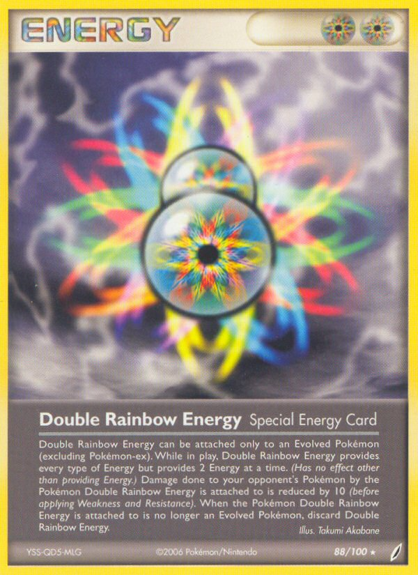 2006 EX Crystal Guardians Double Rainbow Energy