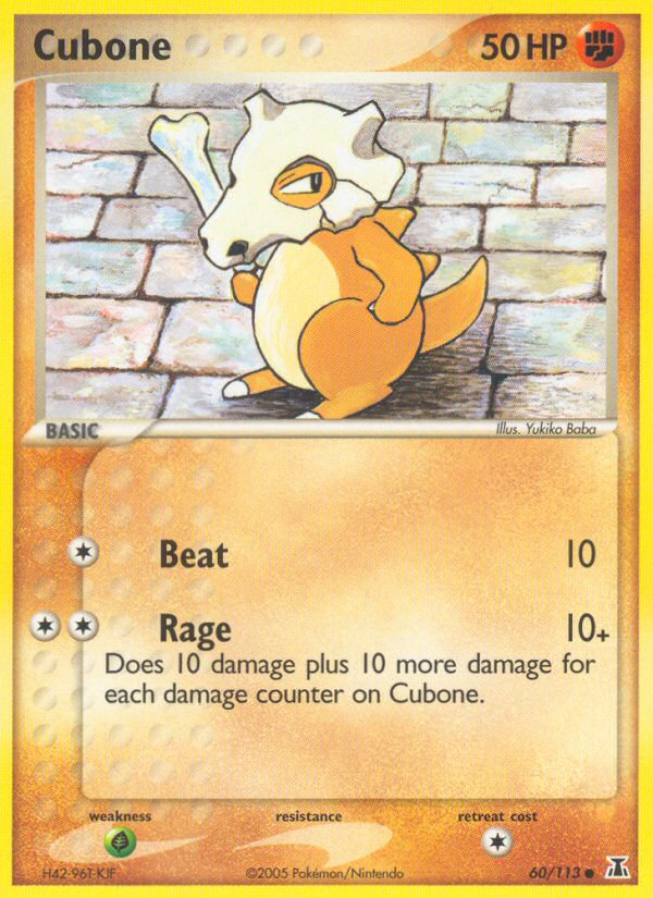 2005 EX Delta Species Cubone