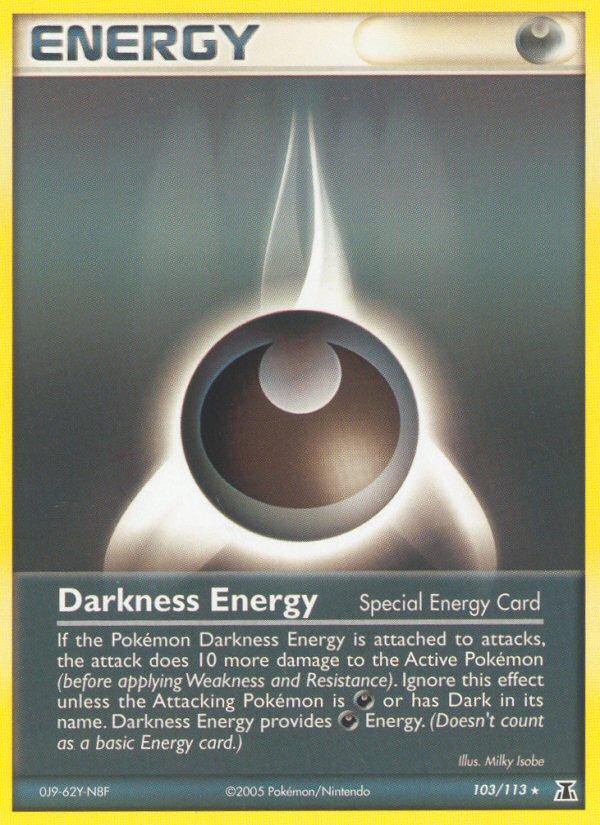 2005 EX Delta Species Darkness Energy