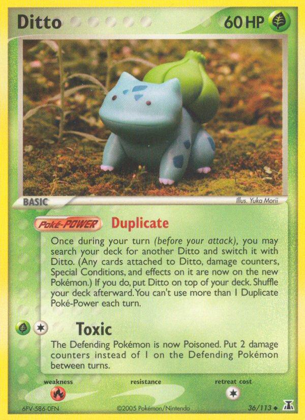 2005 EX Delta Species Ditto [Bulbasaur]