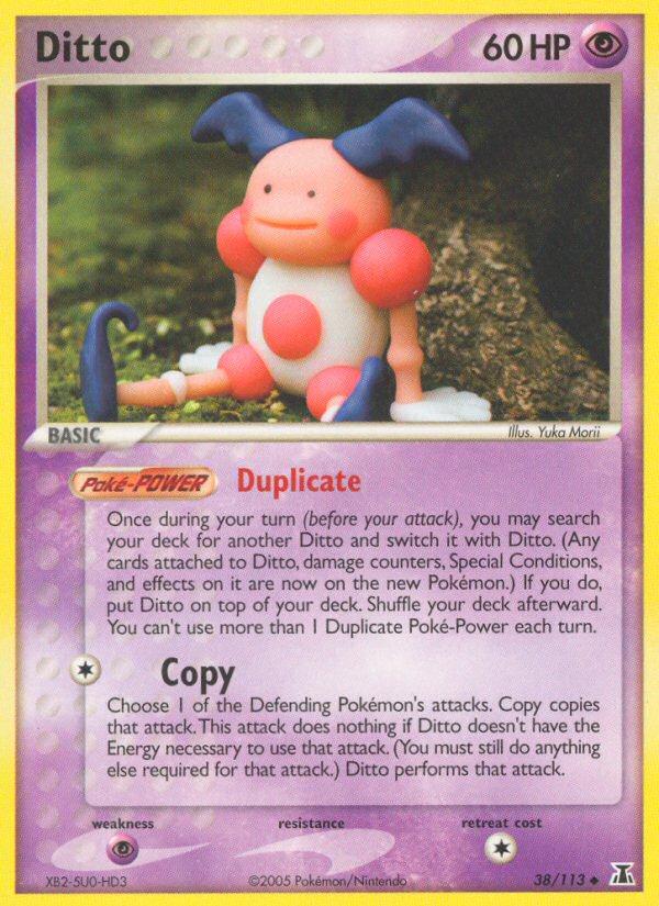 2005 EX Delta Species Ditto [Mr. Mime]