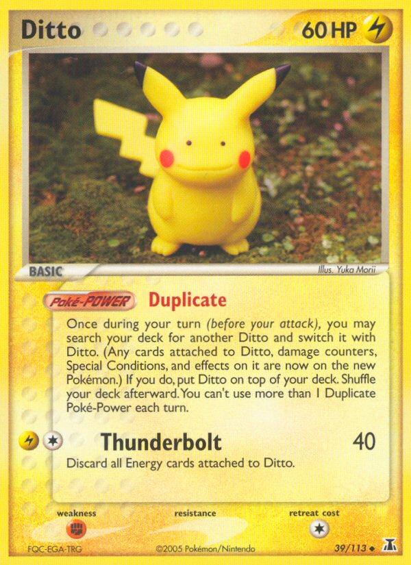 2005 EX Delta Species Ditto [Pikachu]
