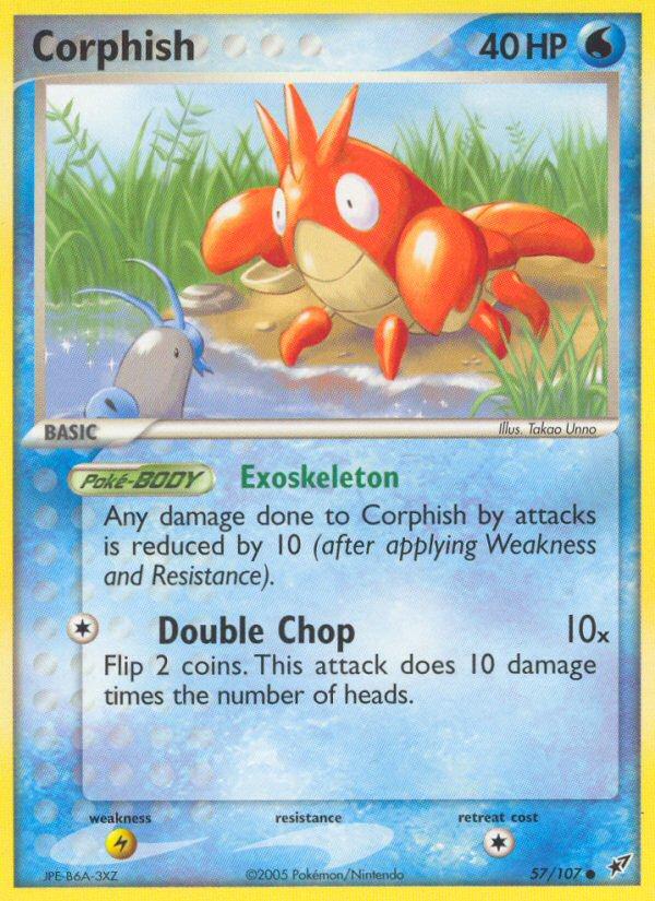 2005 EX Deoxys Corphish Reverse Foil