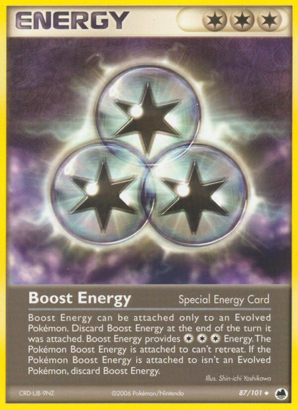 2006 EX Dragon Frontiers Boost Energy