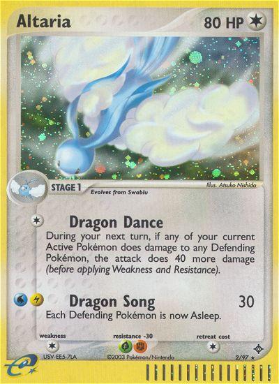 2003 EX Dragon Altaria Reverse Foil