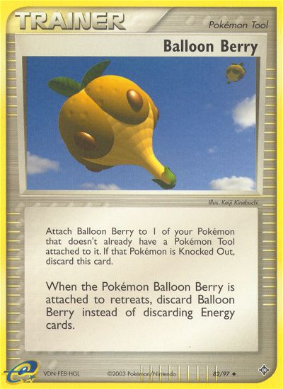 2003 EX Dragon Balloon Berry