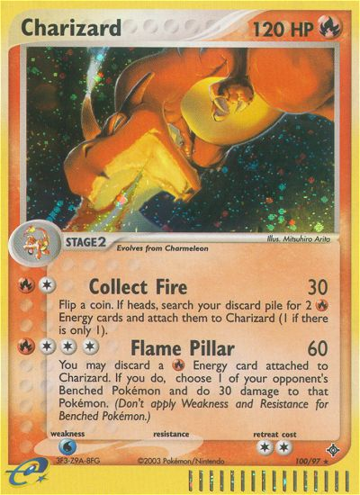 2003 EX Dragon Charizard National Championships  Holo