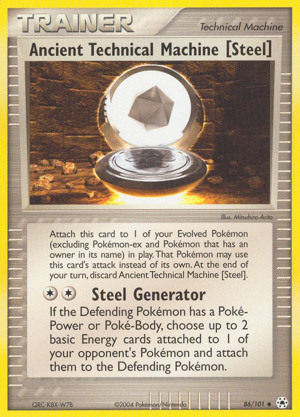 2004 EX Hidden Legends Ancient Technical Machine [Steel] Reverse Holo