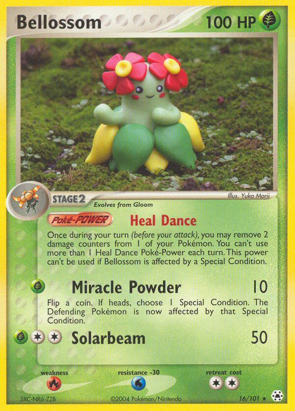 2004 EX Hidden Legends Bellossom Reverse Holo