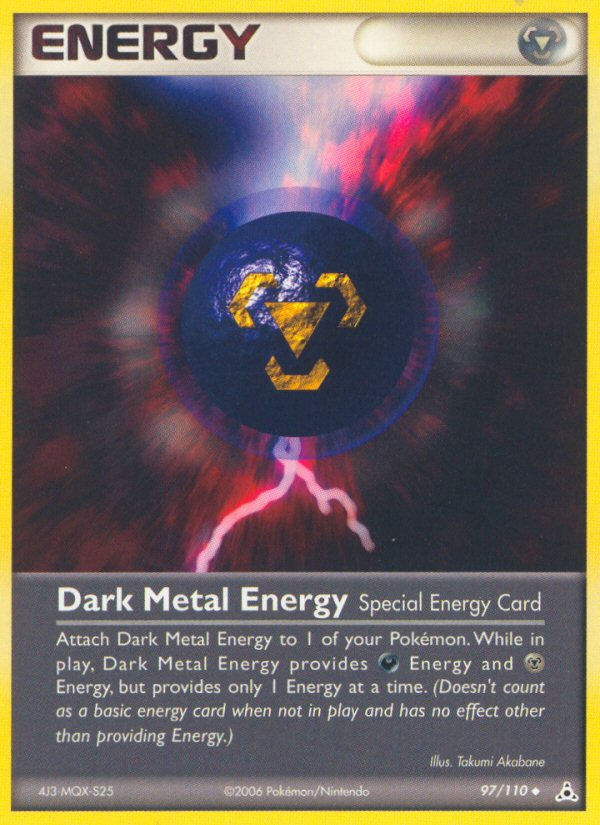 2006 EX Holon Phantoms Dark Metal Energy