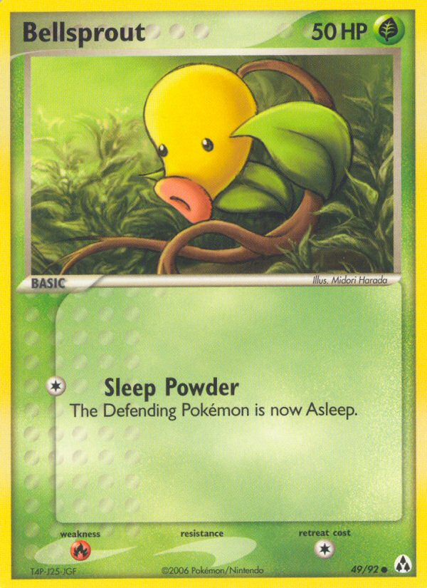 2006 EX Legend Maker Bellsprout   Holo