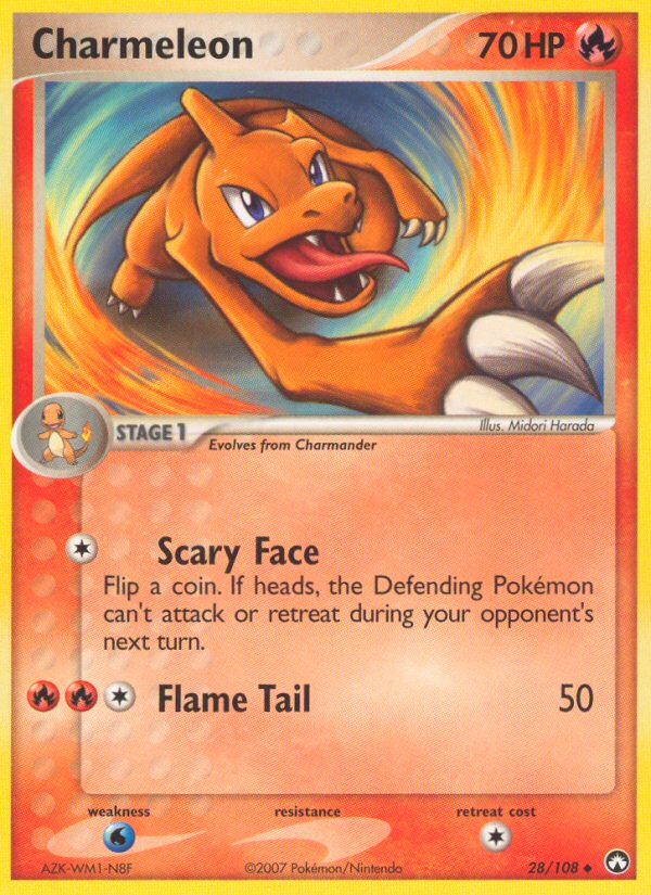 2007 EX Power Keepers Charmeleon