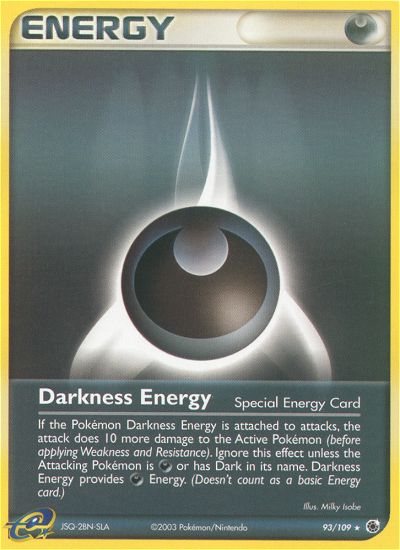 2003 EX Ruby & Sapphire Darkness Energy