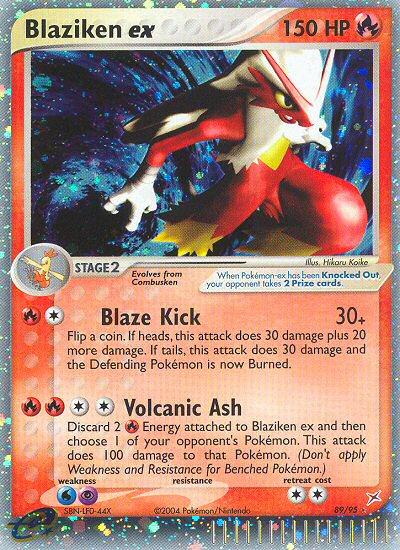 2004 EX Team Magma vs. Team Aqua Blaziken EX   Holo