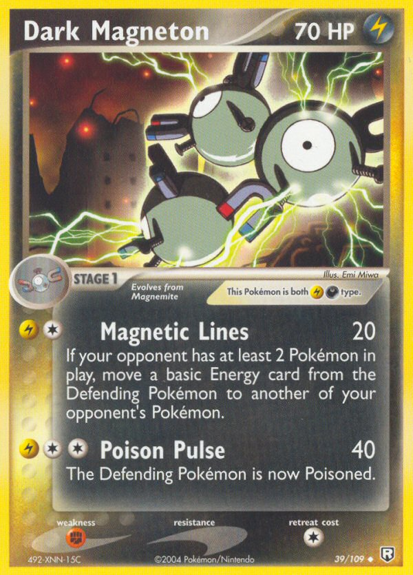 2004 EX Team Rocket Returns Dark Magneton