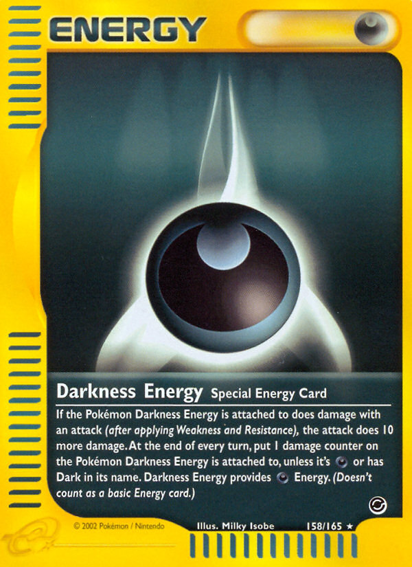 2002 Expedition Base Set Darkness Energy Reverse Foil