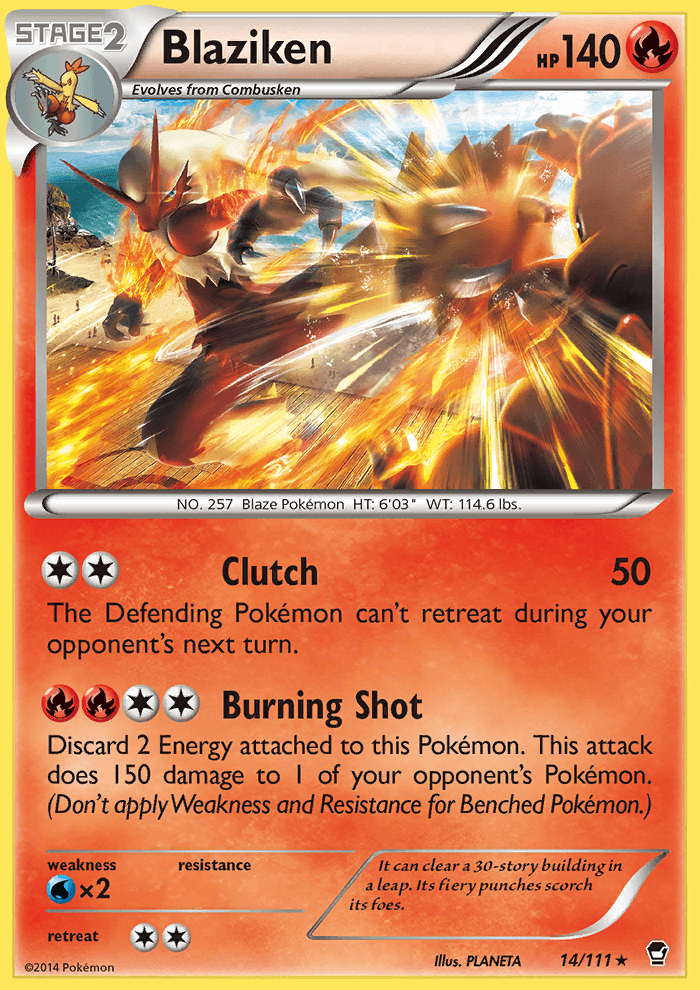 2014 Furious Fists Blaziken