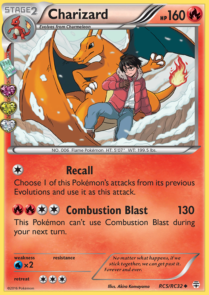 2016 Generations Radiant Collection Charizard