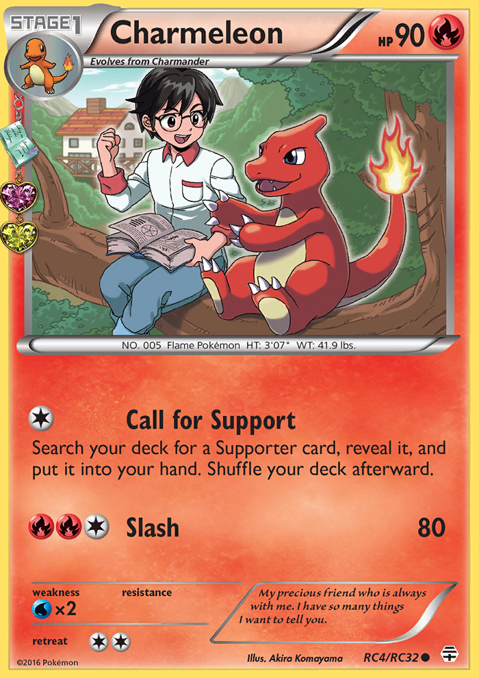 2016 Generations Radiant Collection Charmeleon