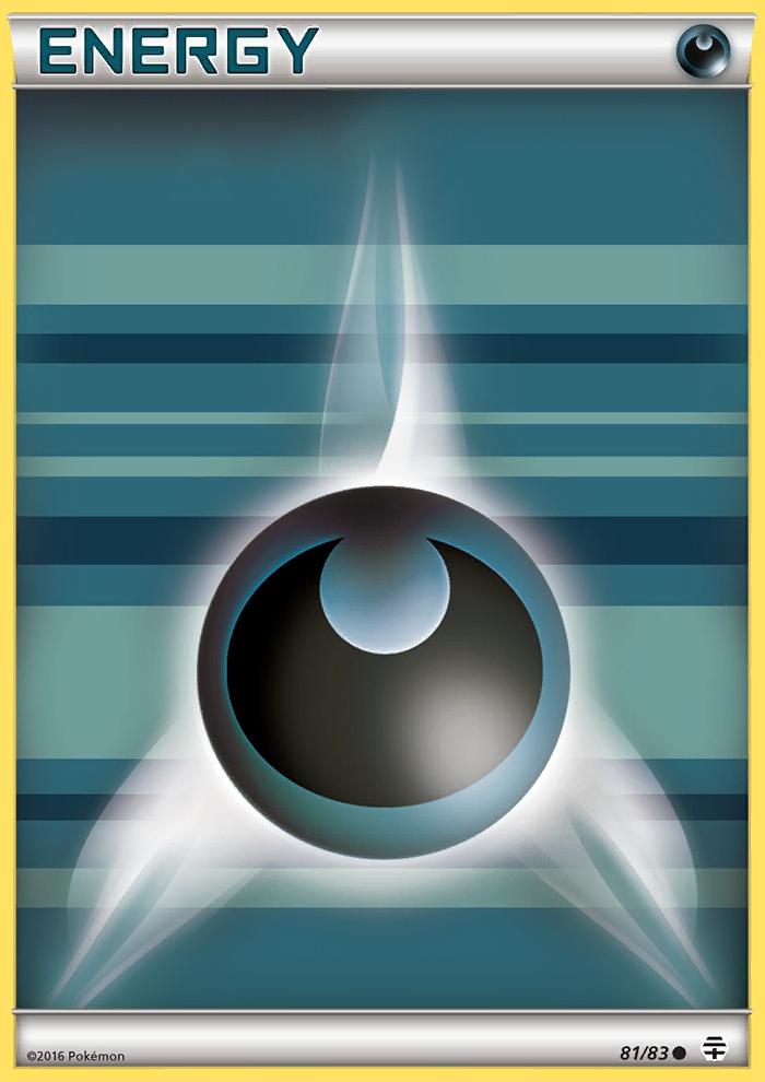 2016 Generations Darkness Energy-Reverse Holo Reverse Holo