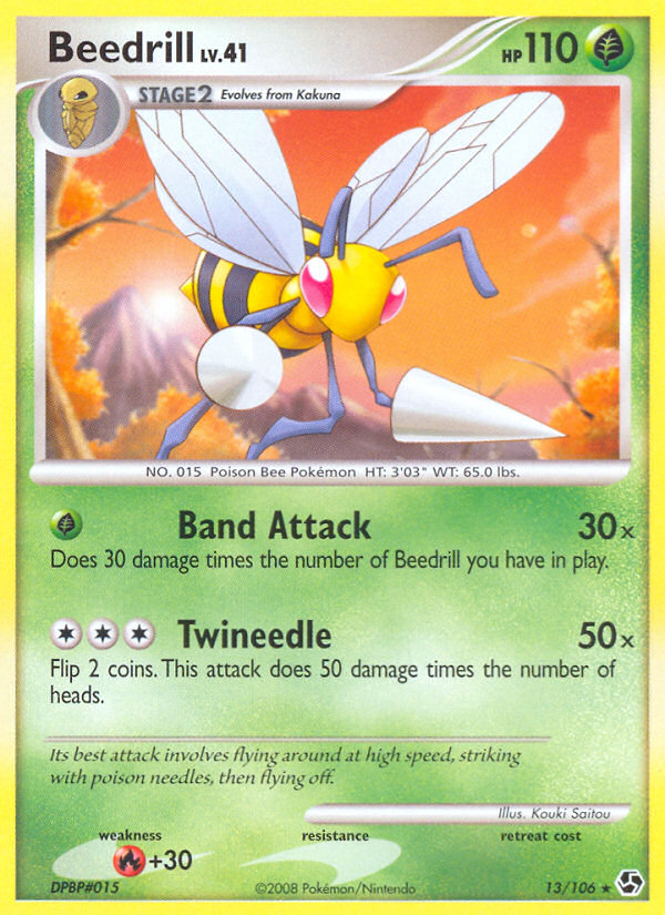 2008 Great Encounters Beedrill