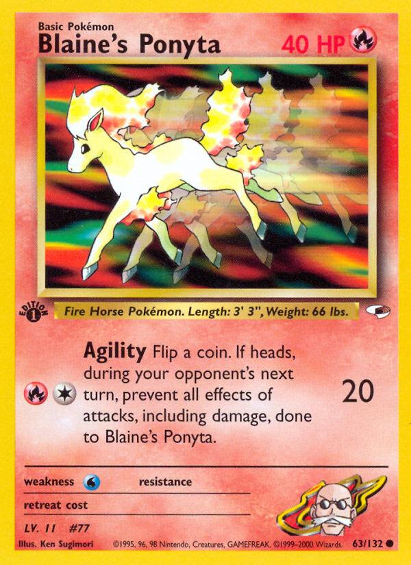 2000 Gym Heroes Blaine's Ponyta