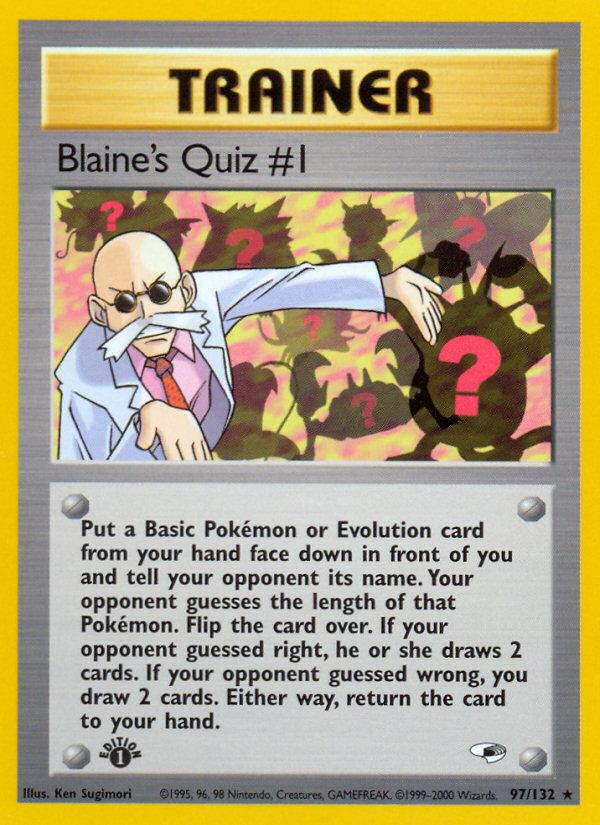 2000 Gym Heroes Blaine's Quiz #1