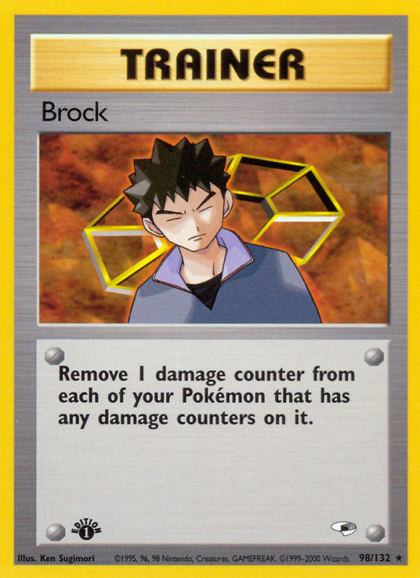 2000 Gym Heroes Brock 1st Edition