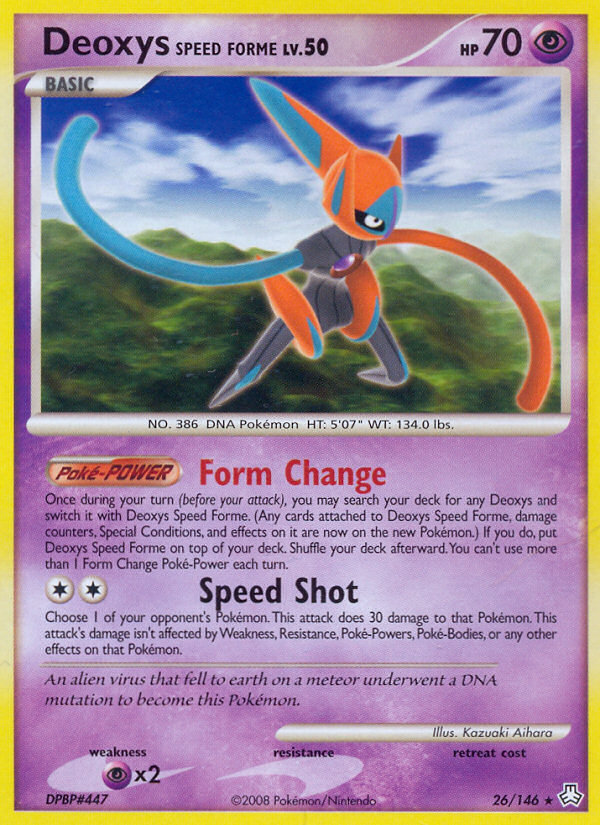 2008 Legends Awakened Deoxys