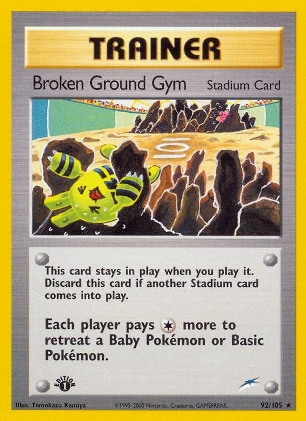 2002 Neo Destiny Broken Ground Gym