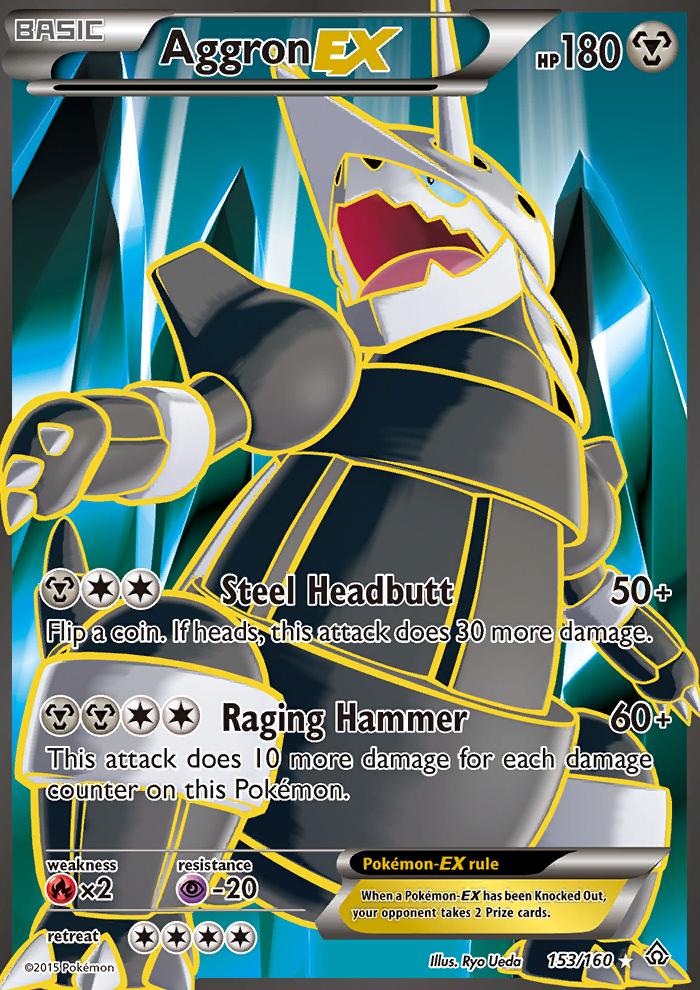 2015 Primal Clash Aggron EX/Full Art