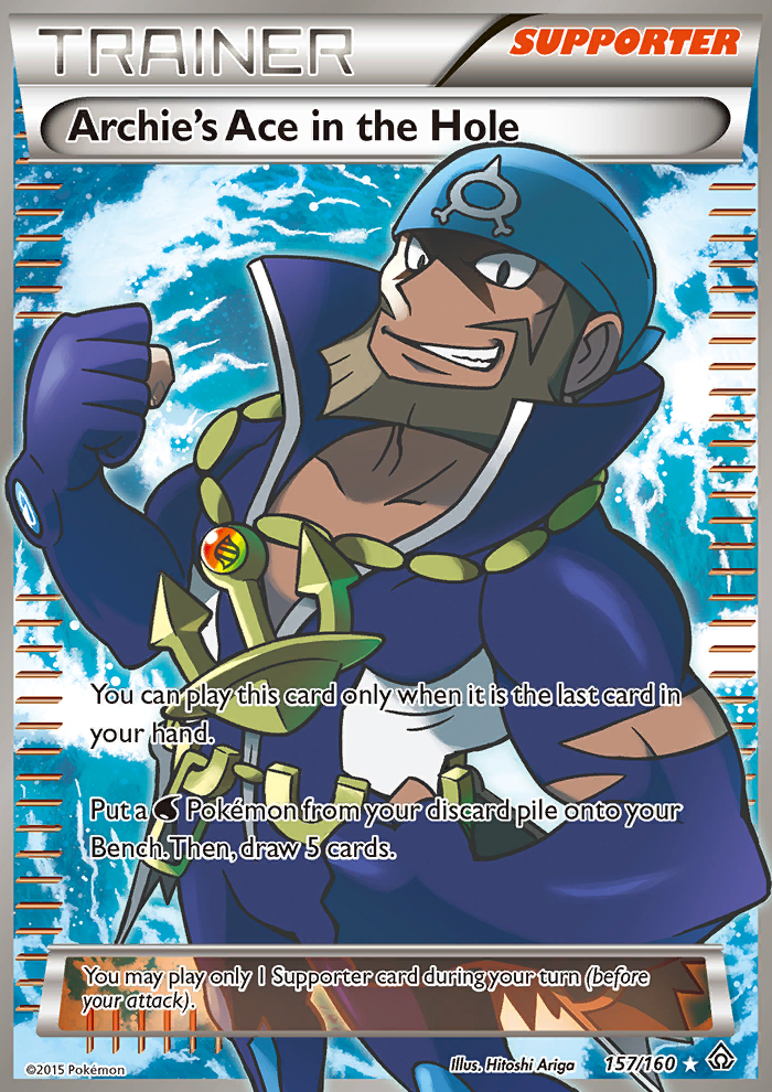 2015 Primal Clash Archie's Ace in the Hole/Full Art