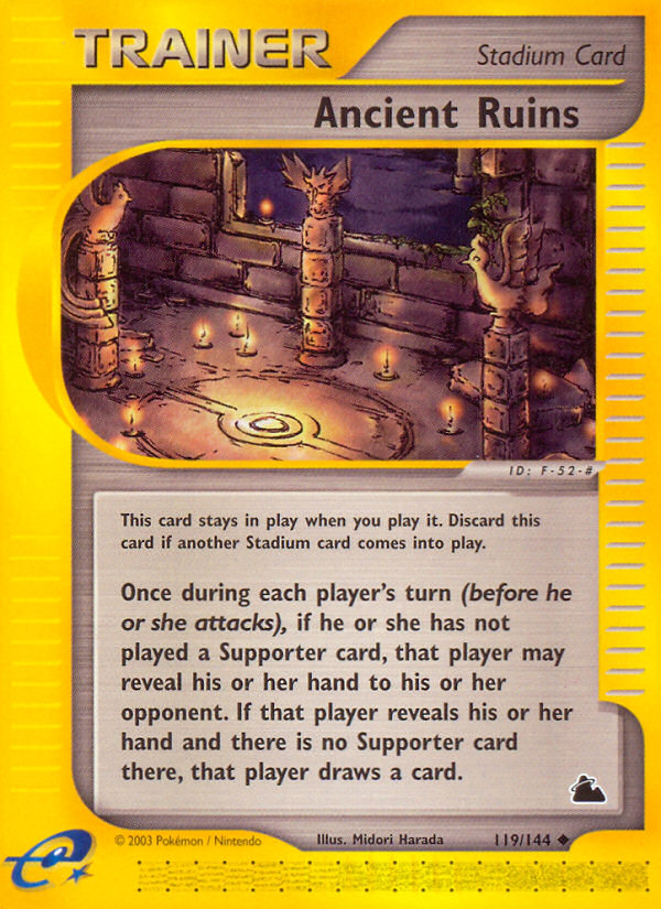2003 Skyridge Ancient Ruins Reverse Foil