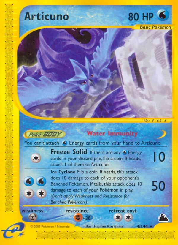 2003 Skyridge Articuno Reverse Foil