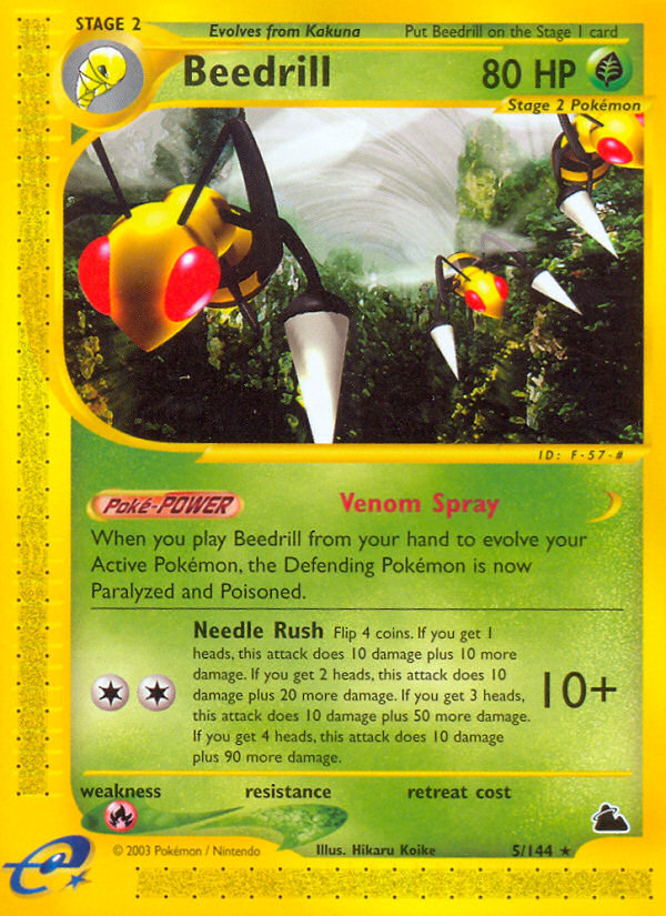 2003 Skyridge Beedrill