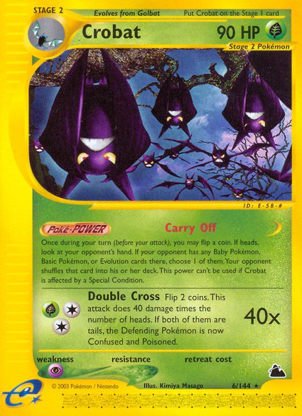 2003 Skyridge Crobat Reverse Foil