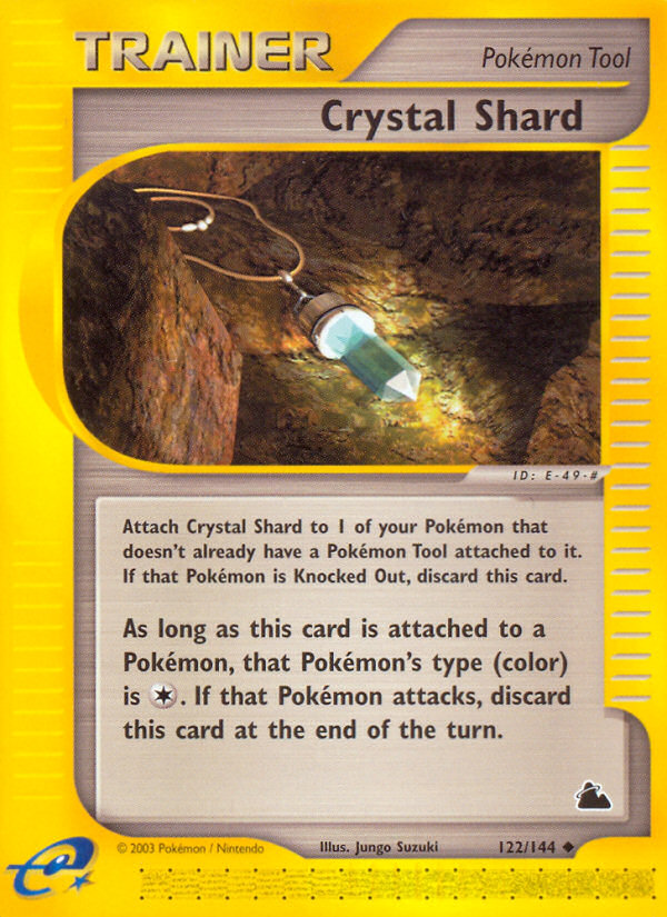2003 Skyridge Crystal Shard Reverse Foil