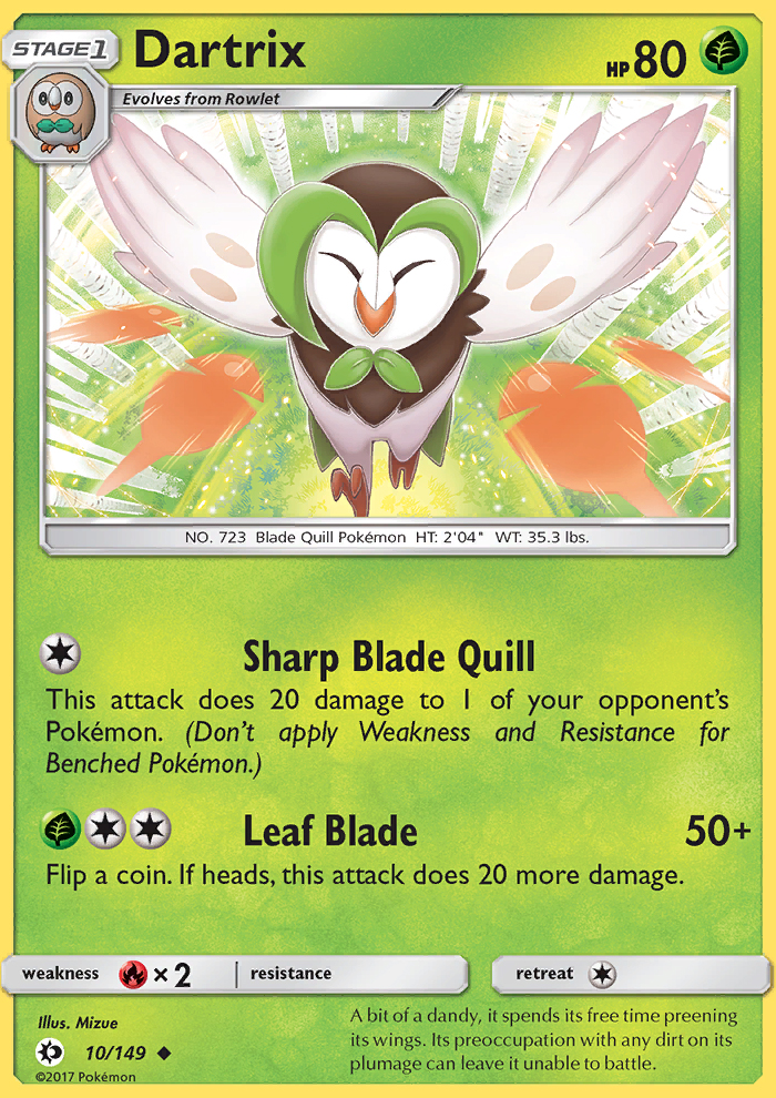 2017 Sun & Moon Dartrix