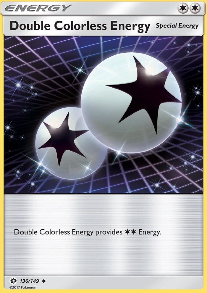 2017 Sun & Moon Double Colorless Energy